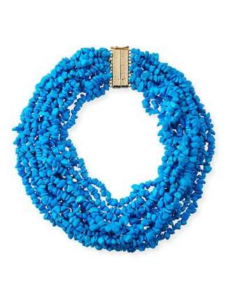 Rosantica Fato Multi-Strand Beaded Necklace