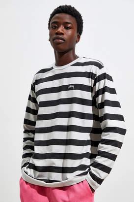 Stussy Printed Stripe Long Sleeve Tee