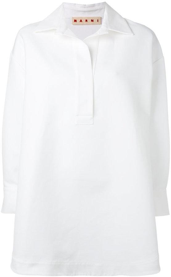 MarniMarni oversized tunic shirt