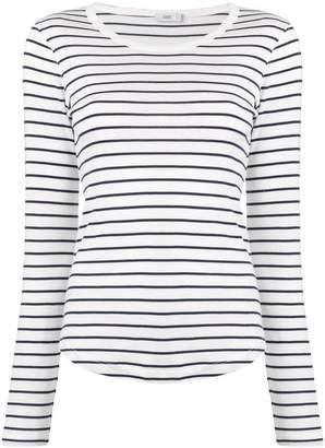 Closed striped lightweight jumper