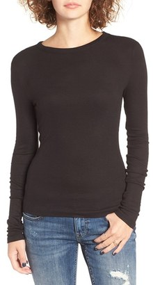 Women's Bp. Ribbed Long Sleeve Tee $25 thestylecure.com