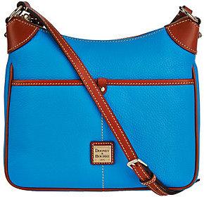Dooney & Bourke Pebble Leather Kimberly Crossbody Bag $148 thestylecure.com