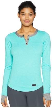 Pearl Izumi Versa Long Sleeve Henley Women's Clothing