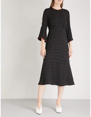 Cefinn Patterned woven dress