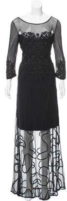 ALICE by Temperley Embroidered Lace Maxi Dress