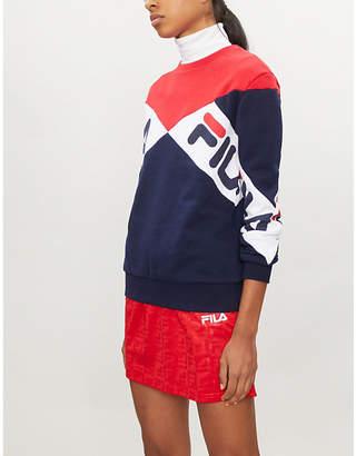 Fila Lidia cotton-blend sweatshirt