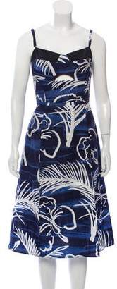 Timo Weiland Printed Midi Dress