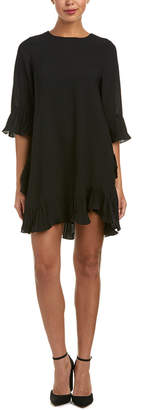 Toi et Moi Pleated Shift Dress