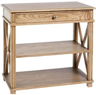 Sasson Home Manto Large Bedside Table Elm