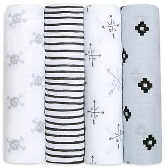 Aden and Anais Infant Boys' Swaddle, 4 Pack $49.95 thestylecure.com