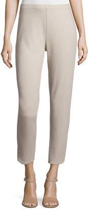 Joan Vass Ponte Ankle Pants
