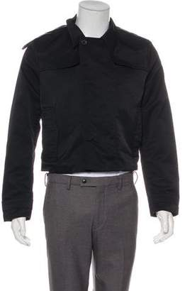 Givenchy Twill Cropped Jacket