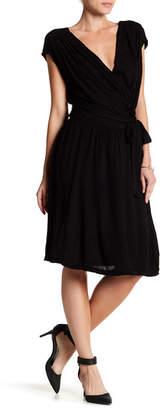 Velvet by Graham & Spencer Paz Knit Wrap Dress
