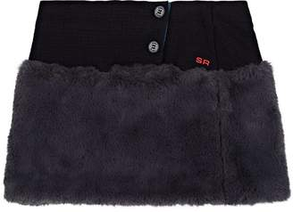 Sonia Rykiel KIDS' FAUX-FUR SKIRT