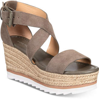 Marc Fisher Zendra Wedge Sandals Women Shoes