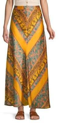 8bac5442d8 Chevron Maxi Skirt - ShopStyle