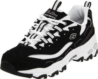 Skechers Sport Women's D'Lites Original Non-Memory Foam Lace-Up Sneaker $59.95 thestylecure.com