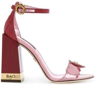 Dolce & Gabbana heart sandals