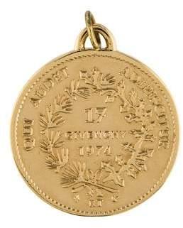 Givenchy Coin Pendant
