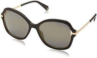 Polaroid Sunglasses Women's Pld4068s Polarized Square Sunglasses