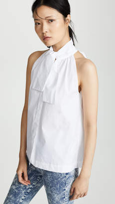 ANAÏS JOURDEN Shirt Tank with Bow Tie