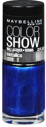 Maybelline Color Show Metallics Nail Lacquer Navy Narcissist