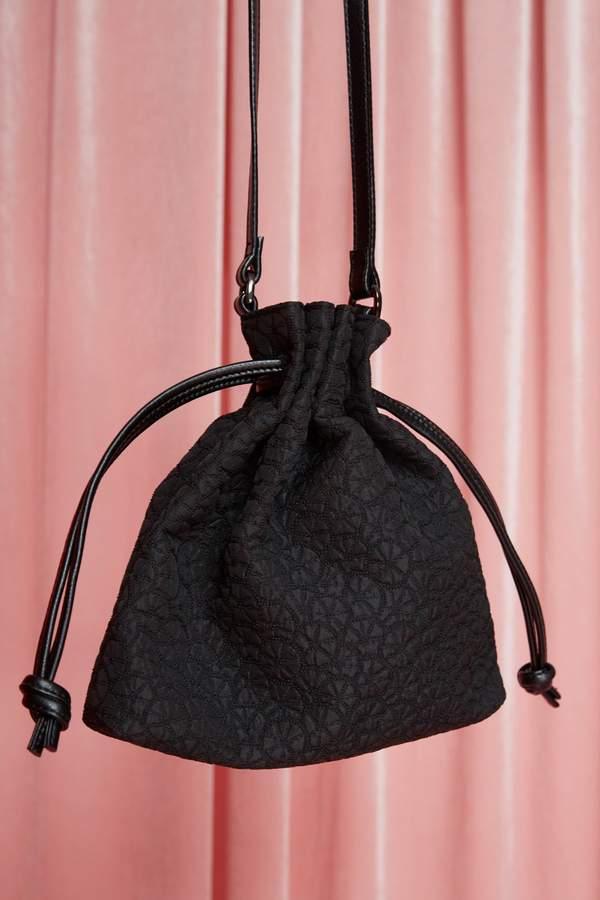 JAGGAR FOOTWEAR DRAW BAG FABRIC black