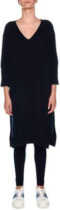 Agnona Cashmere Loungewear Kaftan Dress