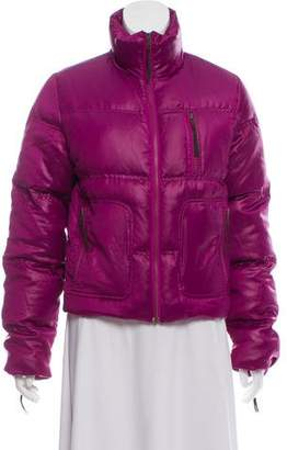 Cacharel Quilted Short Down Coat