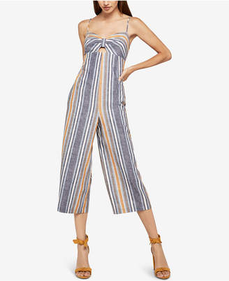 BCBGeneration Variegated Stripe Culotte Jumpsuit