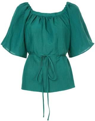 CITYSHOP tie waist blouse