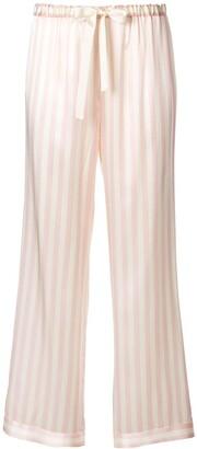 Morgan Lane Chantal striped pyjama trousers