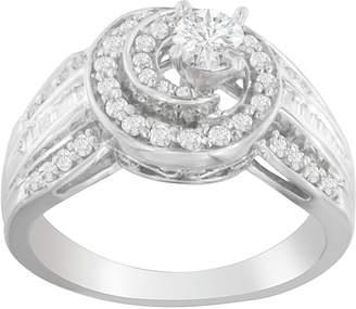Affinity Diamond Jewelry Diamond Swirl 2-Piece Ring, 14K, 6/10 cttw, byAffinity
