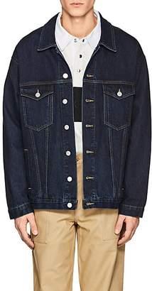 Martine Rose Men's Oversized Denim Jacket - Blue