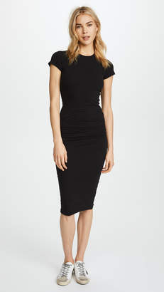 James Perse Classic Short Sleeve Skinny Dress