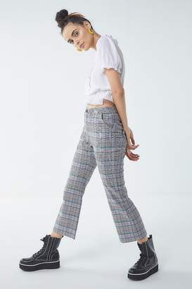 Lazy Oaf Checkered Kick Flare Pant