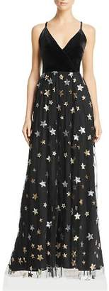 Aqua Sequined Star Gown - 100% Exclusive