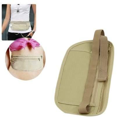 Quitinmaddox Unisex Travel Anti-theft Waist Belt Super Light Running Money Phones Waist Bag