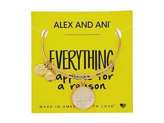 Alex and Ani Words are Powerful - Everything Happens for a Reason II Bangle