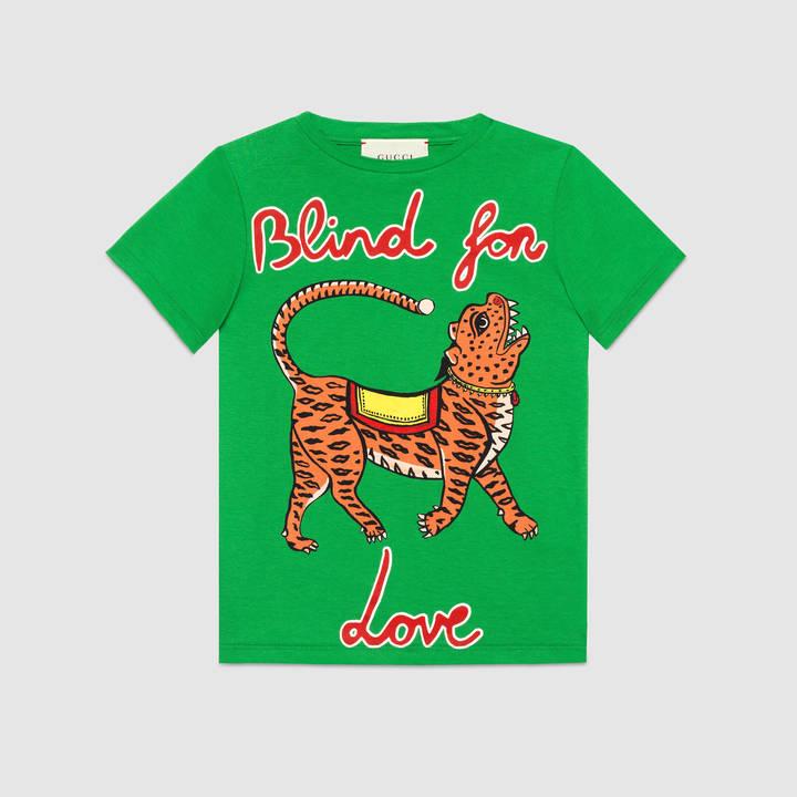 "Children's cotton t-shirt with ""Modern Future"" print 3"