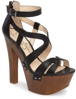 Women's Jessica Simpson Dorrin Platform Sandal $109.95 thestylecure.com