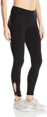 Andrew Marc Performance Women's Long Cut Out Legging