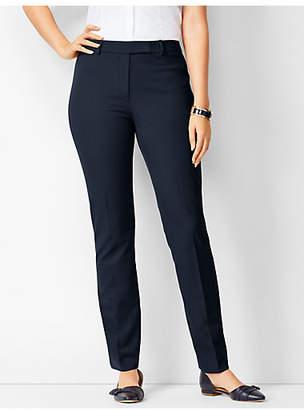 Talbots Bi-Stretch High-Waist Straight-Leg Pants - Curvy Fit