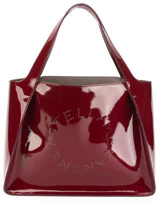 Stella McCartney Patent Alter Napa Logo Tote Bag