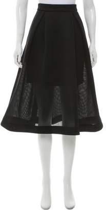 Nicholas Mesh Midi Skirt