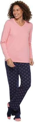 Croft & Barrow Petite 3-piece Pajama Set