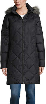 Columbia Heavyweight Hooded Water Resistant Puffer Jacket