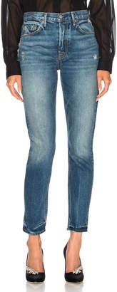 GRLFRND Karolina High Rise Skinny Jean in Close to You | FWRD
