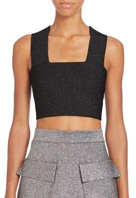 A.L.C. Ali V-Back Cropped Top