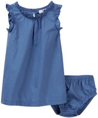 AG Jeans Light Weight Woven Dress & Bloomer Set (Baby Girls)